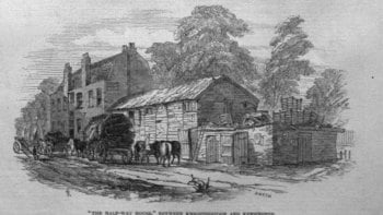 """The Half-Way House."" 1846"
