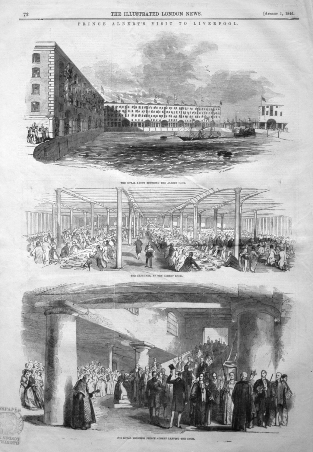 Prince Albert's Visit to Liverpool. 1846
