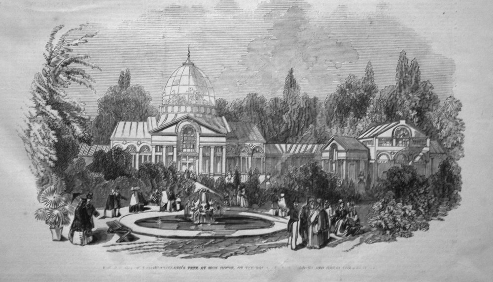 Duchess of Northumberland's Fete at Sion House. 1846