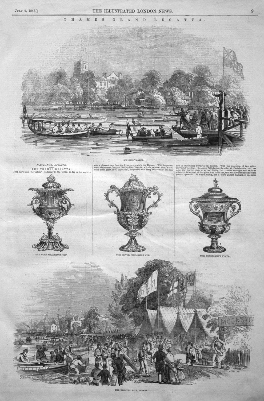 Thames Grand Regatta. 1846