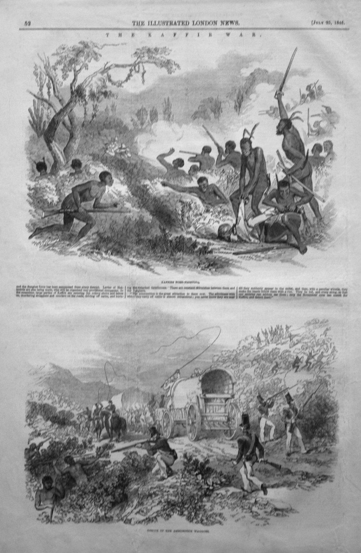 The Kaffir War. 1846