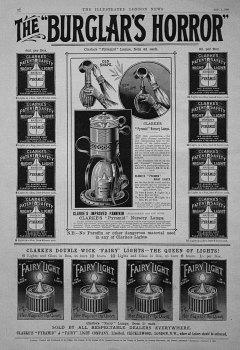 "The ""Burglar's Horror."" 1896"