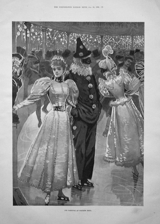 Ice Carnival at Niagara Hall. 1896