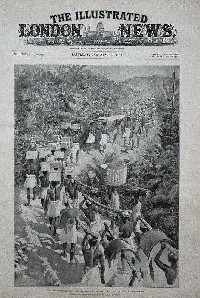 The Ashanti Expedition : The Advance of the Royal Artillery Under Captain Benson. 1896