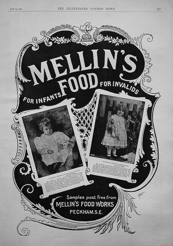 Mellin's Food. 1896
