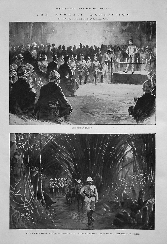 The Ashanti Exhibition. 1896