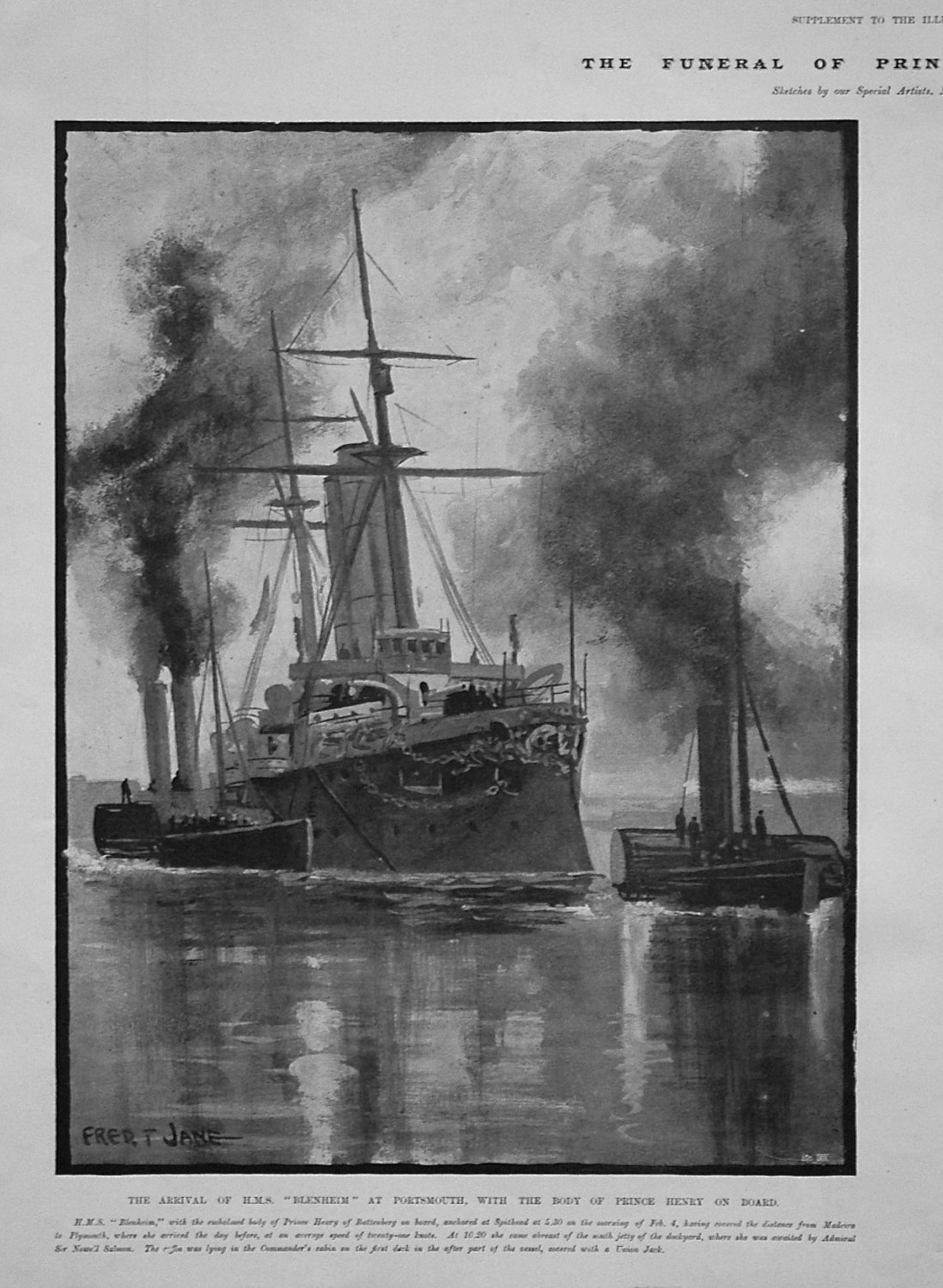 The Arrival of H.M.S.