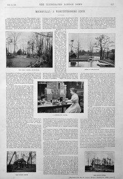 Bournville : A Worcestershire Eden. 1896