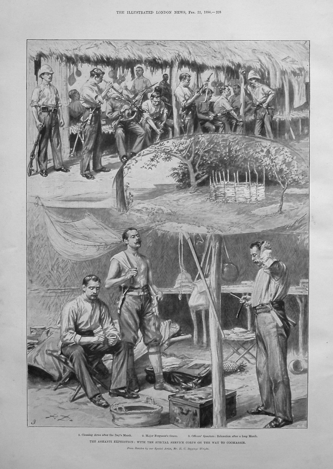 The Ashanti Expedition : With the Special Service Corps on the Way to Cooma