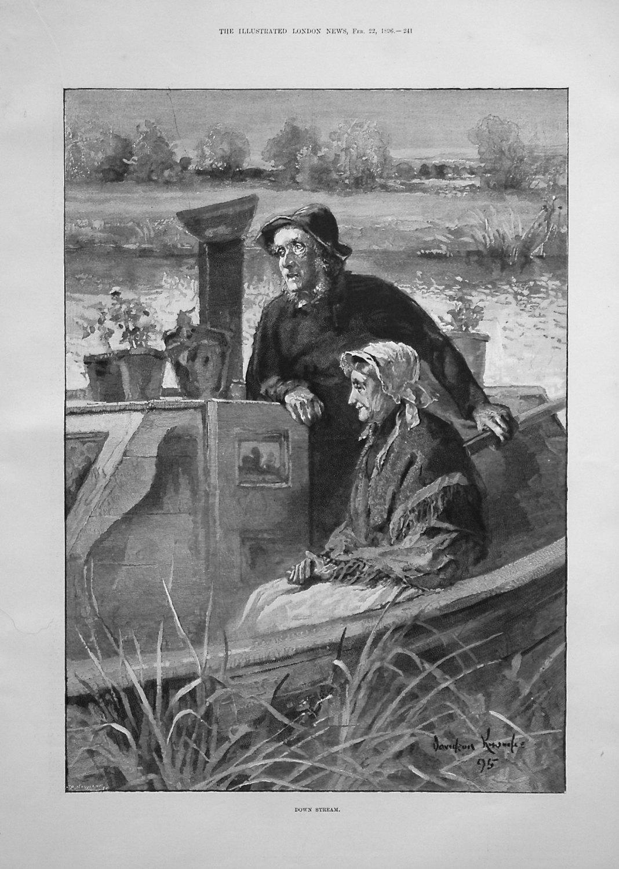 Down Stream. 1896