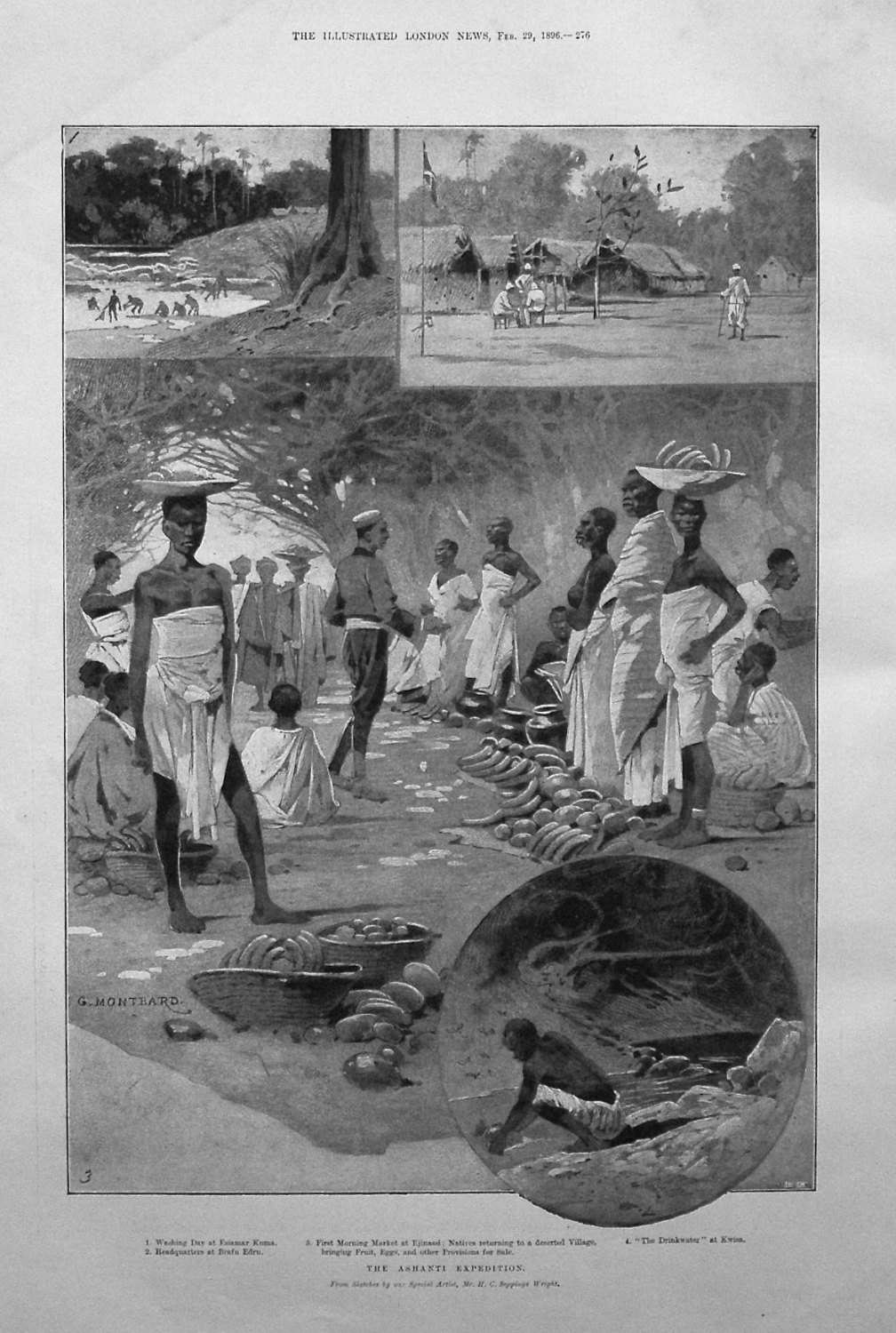 The Ashanti Expedition. 1896