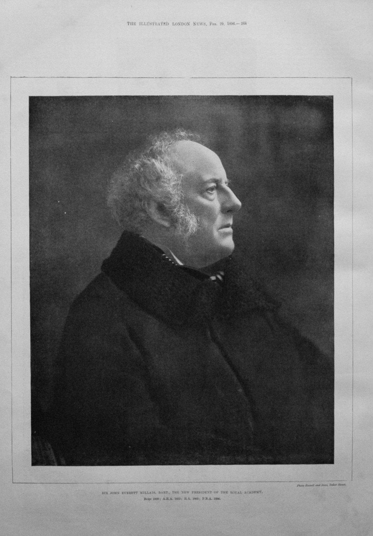 Sir John Everett Millais, Bart., The new President of the Royal Academy. 18