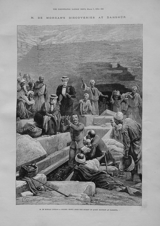 M. De. Morgan's Discoveries at Danshur. 1896