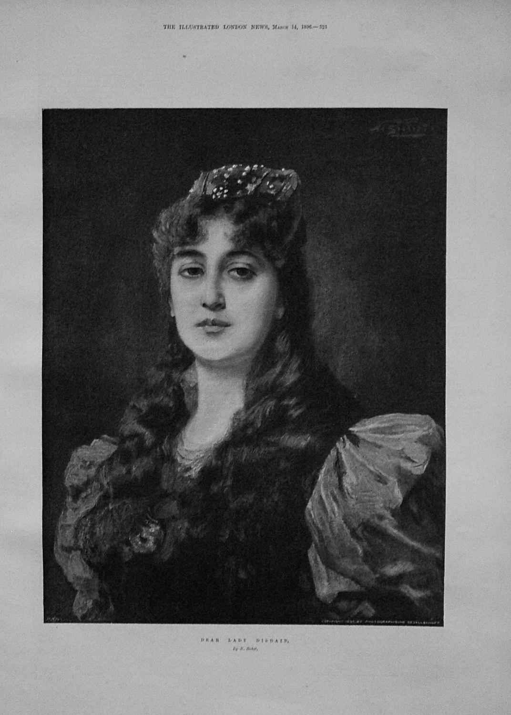 Dear Lady Disdain. 1896