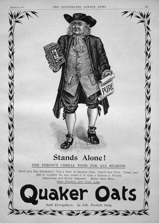 Quaker Oats. 1896