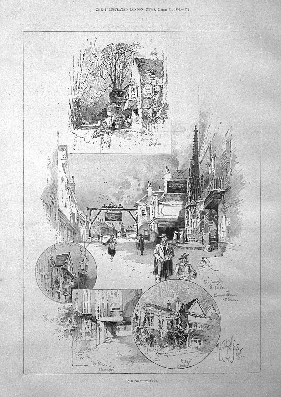 Old Coaching Inns. 1896