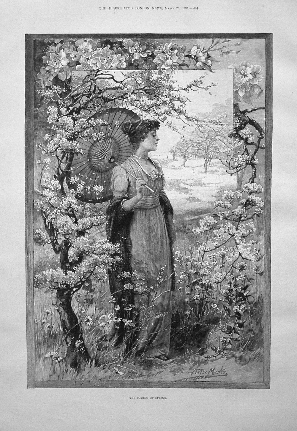 The Coming of Spring. 1896