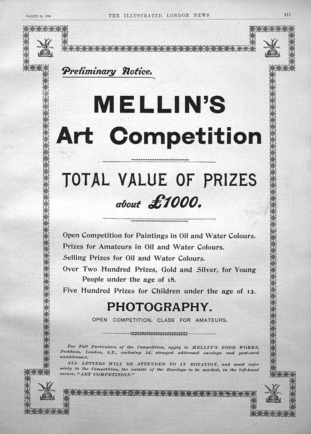 Mellin's Food Art Competition.