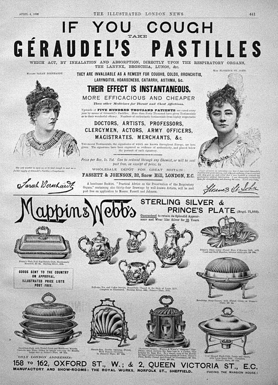 Geraudel's Pastilles.1896