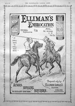 Elliman's Embrocation. 1896