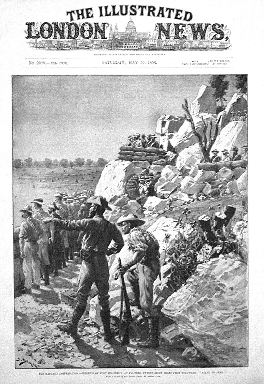 The Matabili Insurrection. -Interior of Fort Molyneux, at Fig-Tree, Twenty-