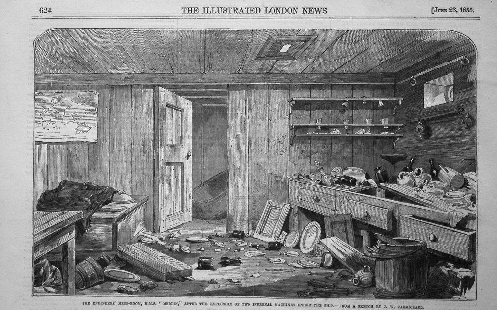 The Engineers' Mess-Room, H.M.S.