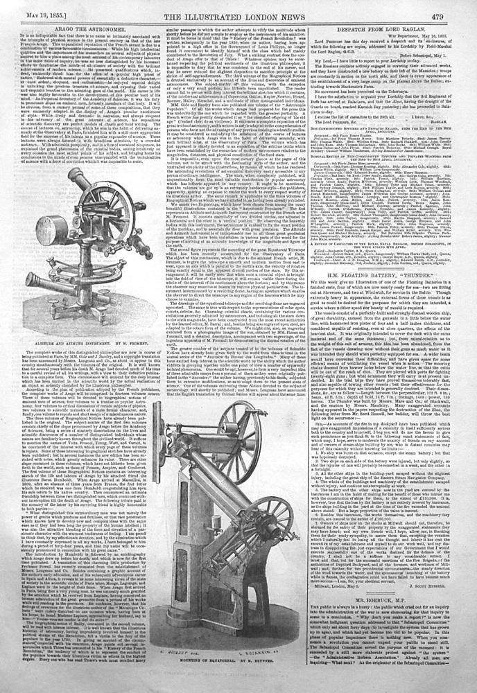 Arago the Astronomer. 1855