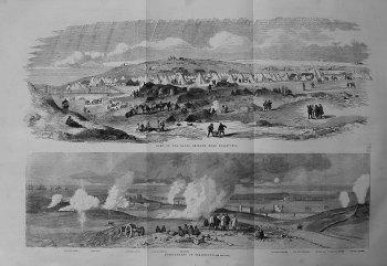 Camp of the Naval Brigade Near Sebastopol. 1855