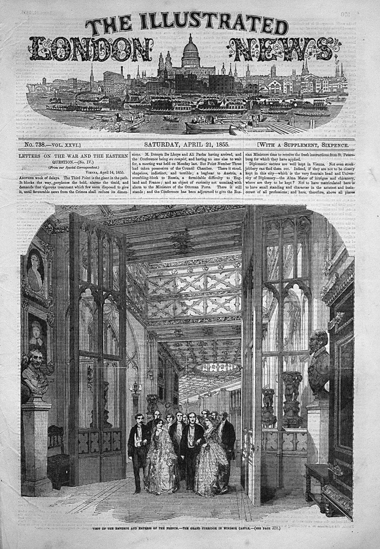 Illustrated London News April 21st 1855.