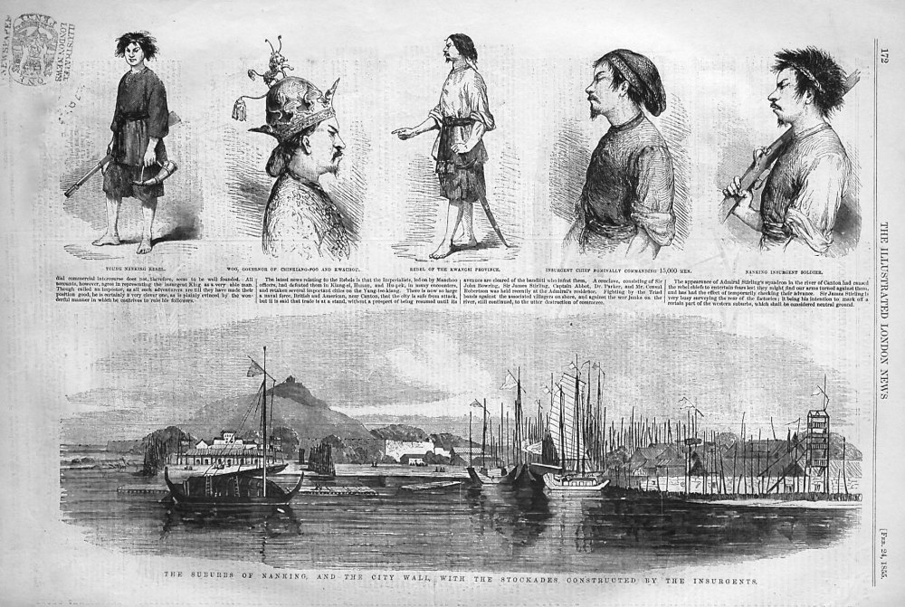 The Insurgents at Nanking. 1855