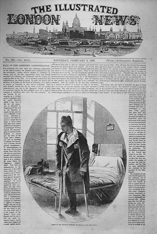 Illustrated London News February 3rd 1855.