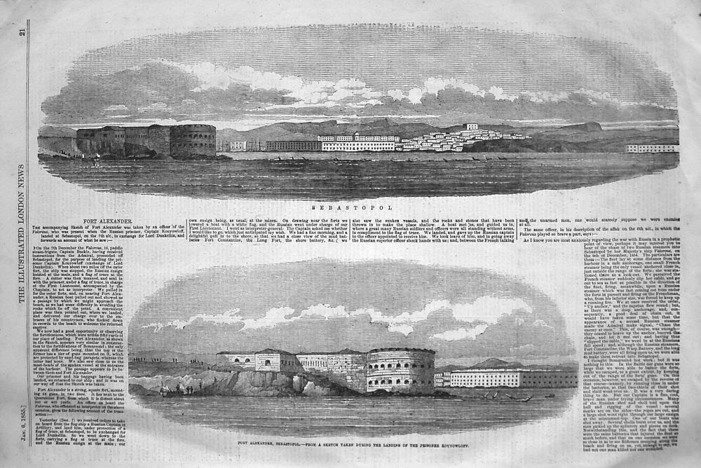 Fort Alexander. 1855