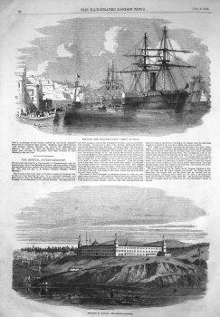 Barracks at Scutari. - The British Hospital. 1855