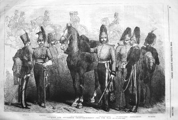 Cavalry and Artillery Reinforcements for the War. 1855