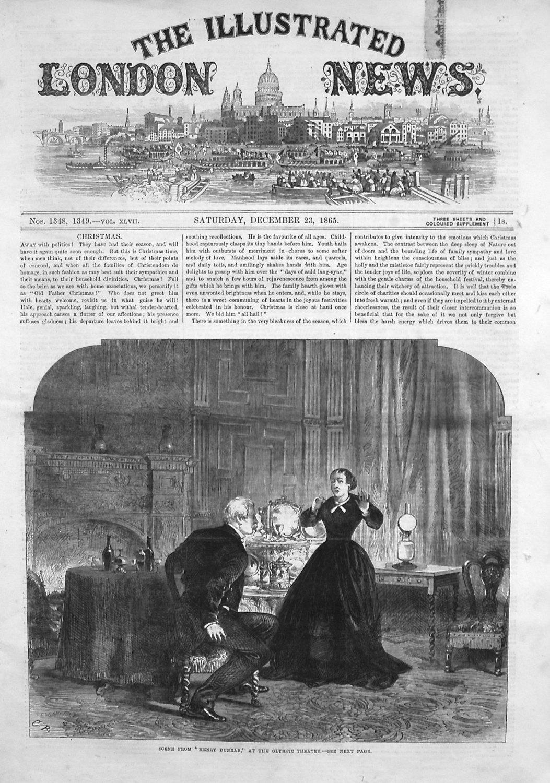 Illustrated London NewsDecember 23rd 1865.
