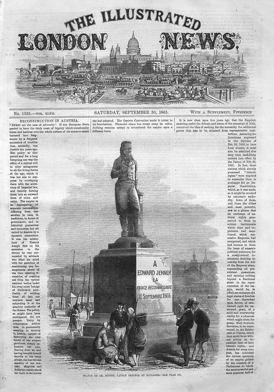Illustrated London News September 30th 1865.