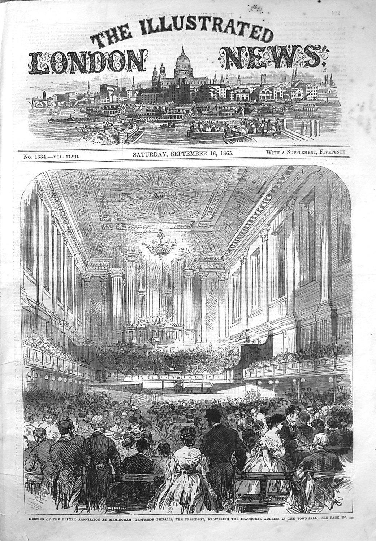 Illustrated London News September 16th 1865