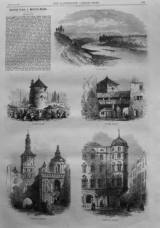 Leaves from a Sketch Book. - Munich. 1865