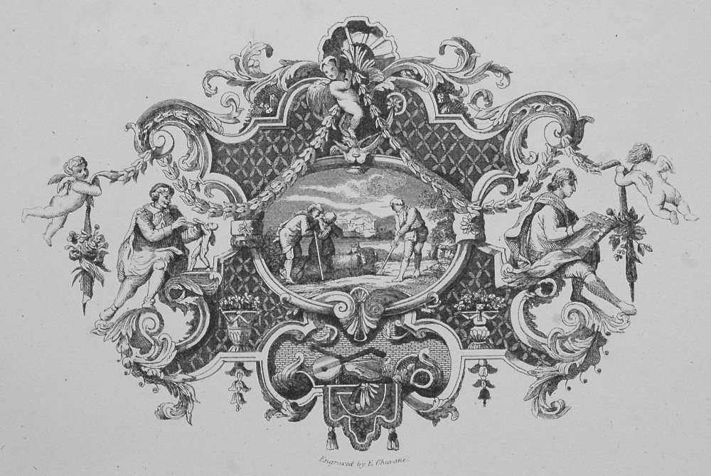 Impression of a Silver Tankard, Designed and Engraved by Hogarth.