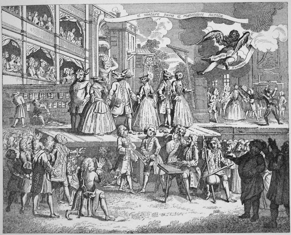 The Beggars' Opera Burlesqued.