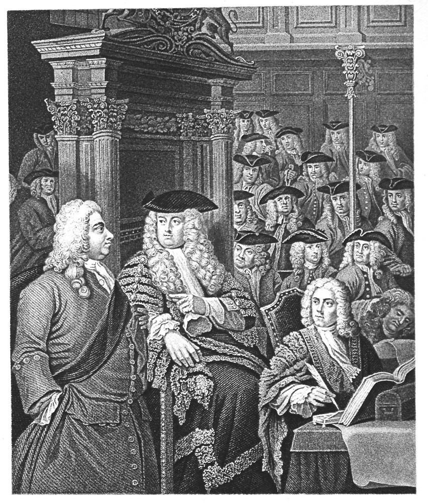 The House of Commons. In Sir Robert Walpole's Administration.