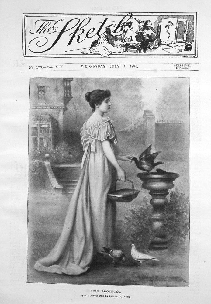 The Sketch July 1st 1896.