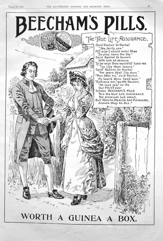 Beecham's Pills. 1909
