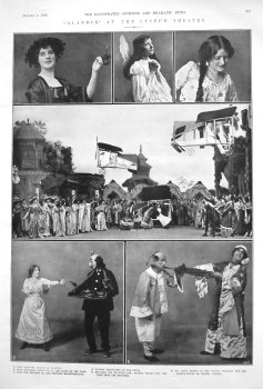 """Aladdin,"" at the Lyceum Theatre. 1910."