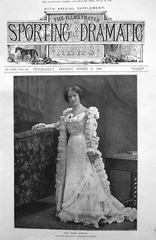 Miss Jessie Bateman. 1900