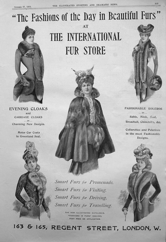 International Fur Store. 1900
