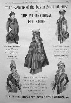 The International Fur Store. 1900