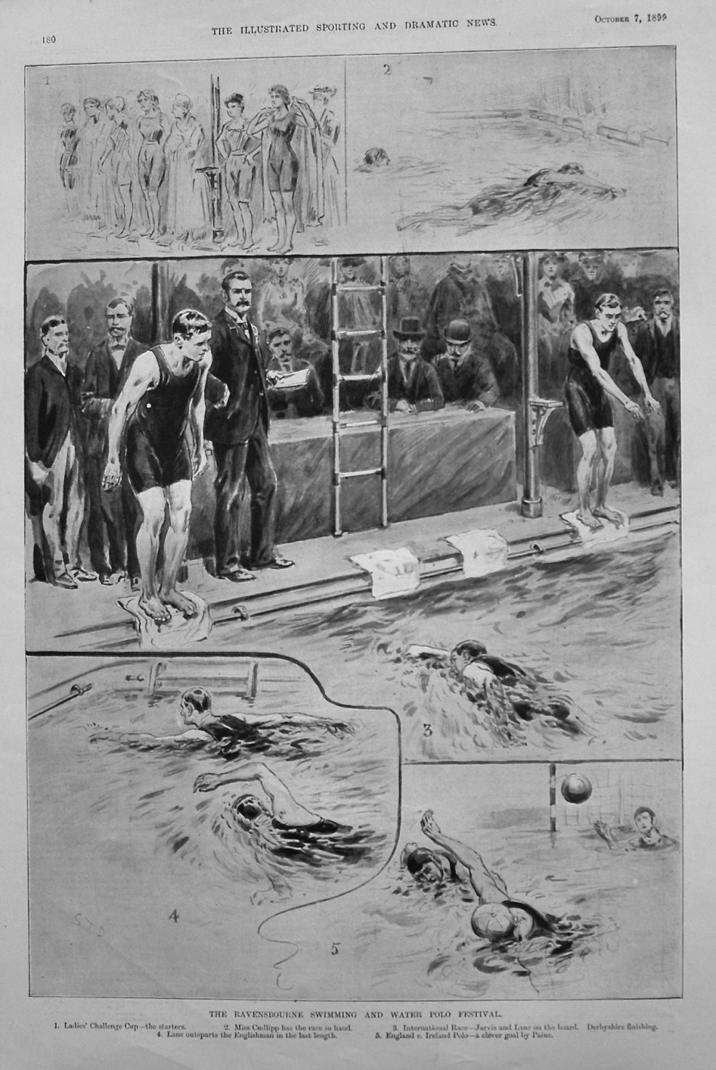 The Ravensbourne Swimming and Water Polo Festival. 1899