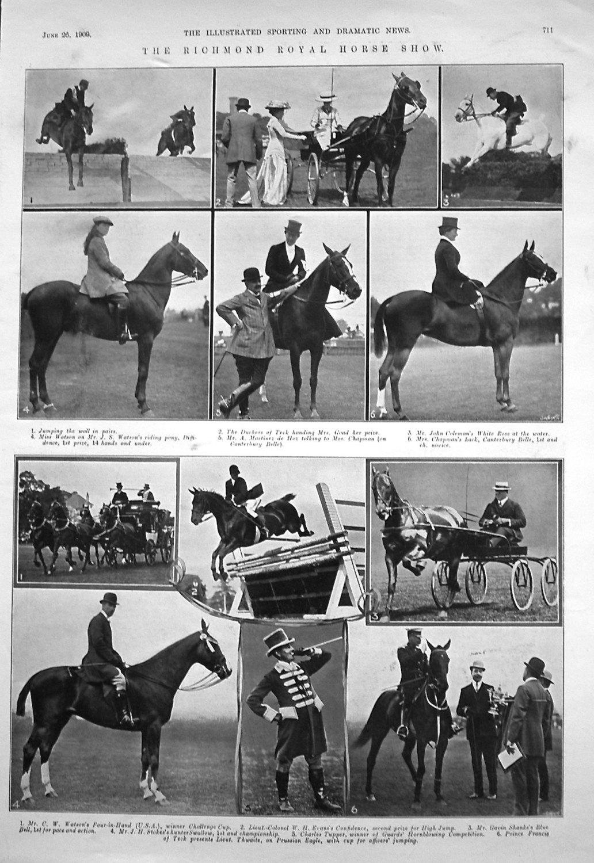 Richmond Royal Horse Show.
