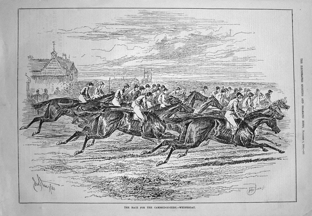 The Race for the Cambridgeshire. - Wednesday. 1882